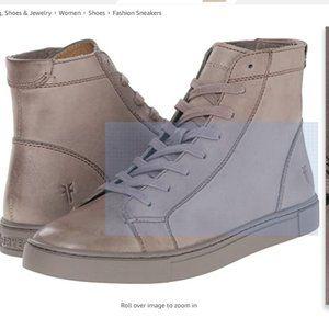 NEW FRYE Gamma Womans VEGAN LEATHER 9.5 Sneakers